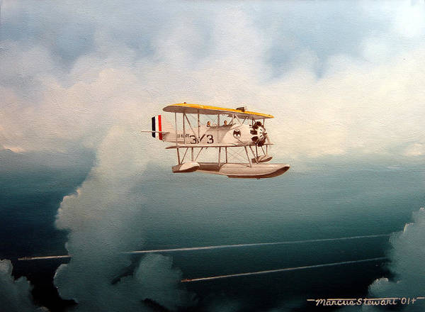 Military Art Print featuring the painting Eyes Of The Fleet by Marc Stewart