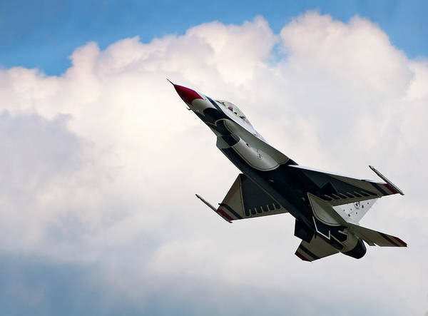 Aircraft Art Print featuring the photograph F-16 Falcon by Murray Bloom