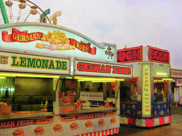 Carnival Art Print featuring the photograph Food And Fun by JAMART Photography