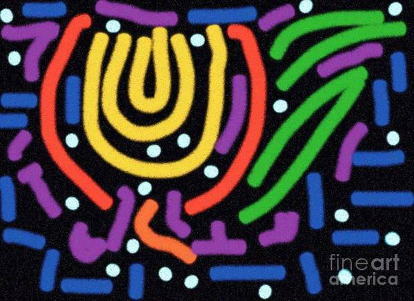Digital Art Print featuring the digital art Incan Design by Thomas Smith