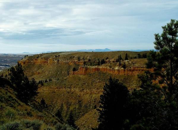 Cliffs Art Print featuring the photograph Judith River Cliffs by Tracey Vivar