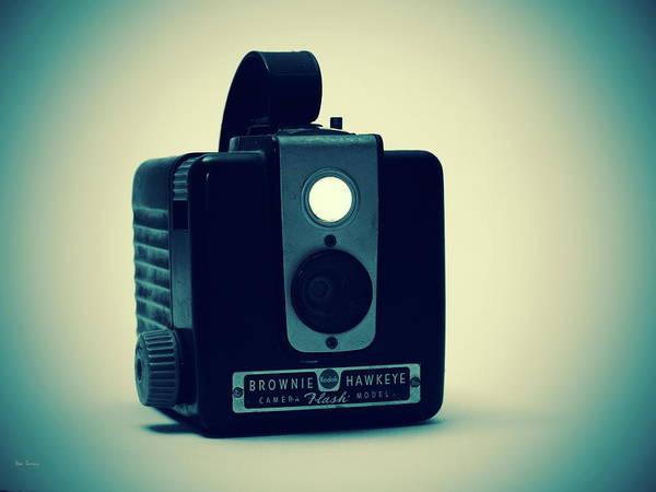 Camera Art Print featuring the photograph Kodak Brownie by Bob Orsillo