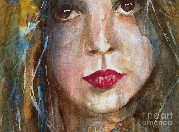 Lay Lady Lay Art Print featuring the painting Lay Lady Lay by Paul Lovering