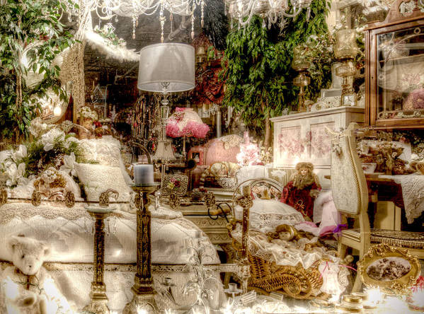 Romantic Art Print featuring the photograph Lost In A Dream by Vicki Jauron