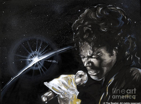 Legends Art Print featuring the painting Michael Jackson by Keith Thurman
