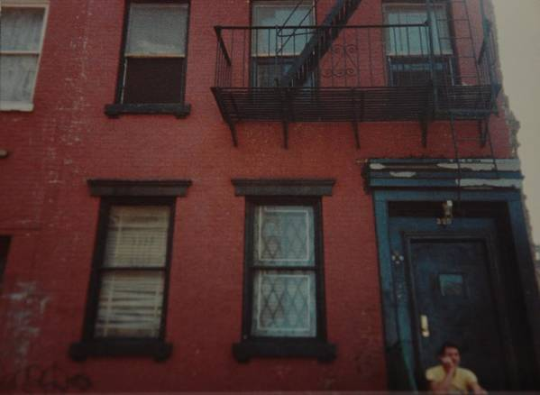 Lower East Side Art Print featuring the photograph My Pops First Home In The United States by Rob Hans