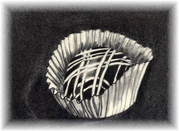 Food Art Print featuring the drawing Oh Chocolate by Penny Everhart