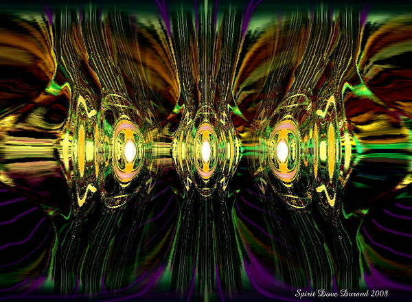 Angels Art Print featuring the digital art Road Called Straight by Spirit Dove Durand