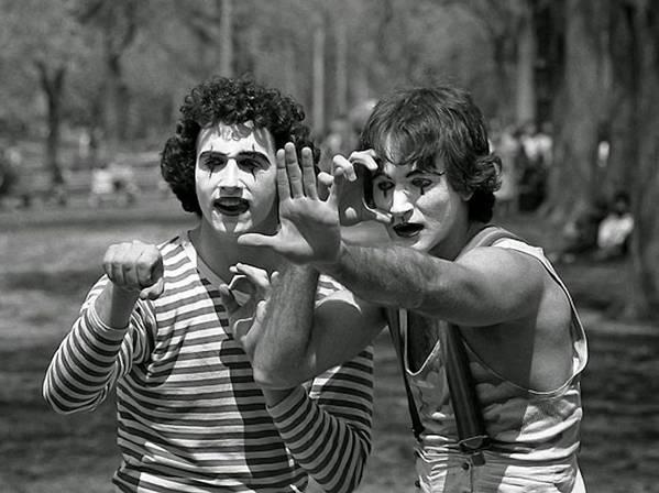 Robin Williams 1974 by Paul Van Scott