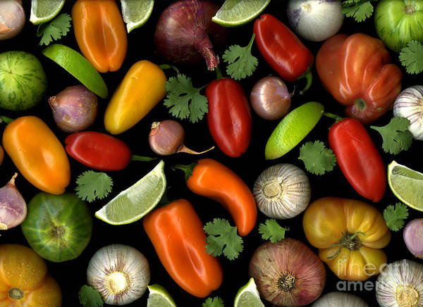 Culinary Art Print featuring the photograph Salsa by Christian Slanec