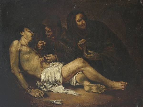 Religion Art Print featuring the painting San Sebastian by Unknown