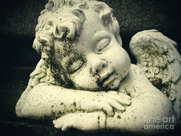 Angel Art Print featuring the photograph Sleeping Angel by A Cappellari