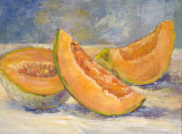 Fruit Art Print featuring the painting Summer Sweet by Jimmie Trotter
