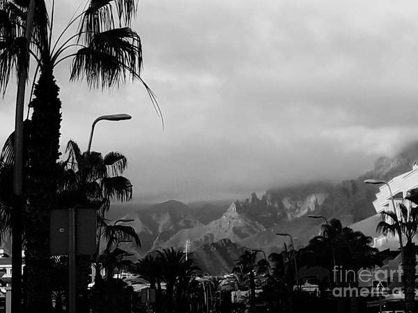 Foto Art Print featuring the photograph Tenerife Mountains by Karina Plachetka