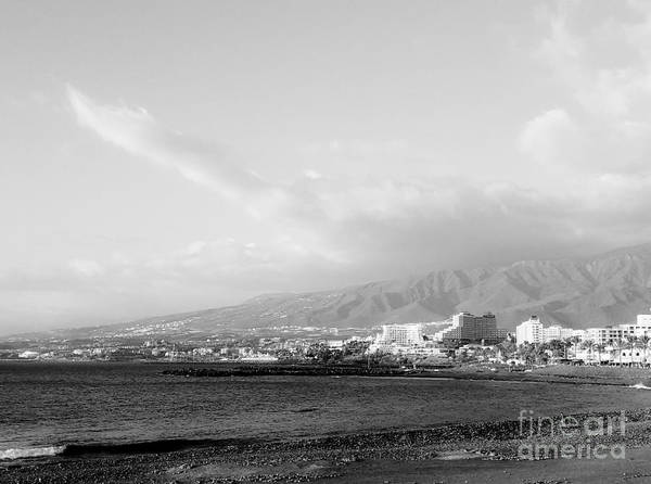 Foto Art Print featuring the photograph Tenerife / Playa De Las Americas3 by Karina Plachetka