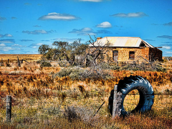 Ruins Art Print featuring the photograph This Old House... by Douglas Barnard
