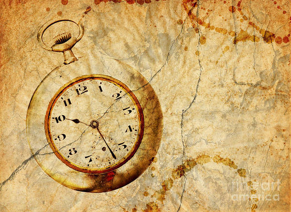 Time Art Print featuring the digital art Time by Michal Boubin