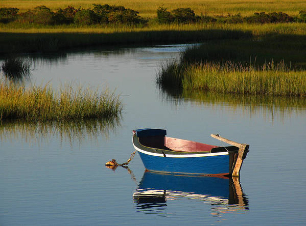Solitude Art Print featuring the photograph Tranquil Cape Cod Photography by Juergen Roth