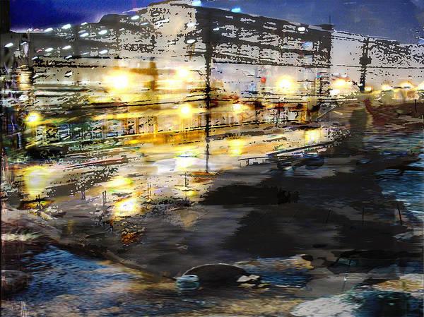 Mixed Media Art Print featuring the mixed media Urban Renovation by Xavier Carter