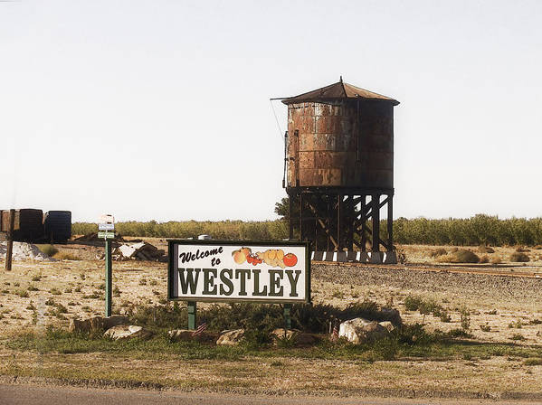 Landscape Art Print featuring the photograph Welcome To Westley by Karen W Meyer