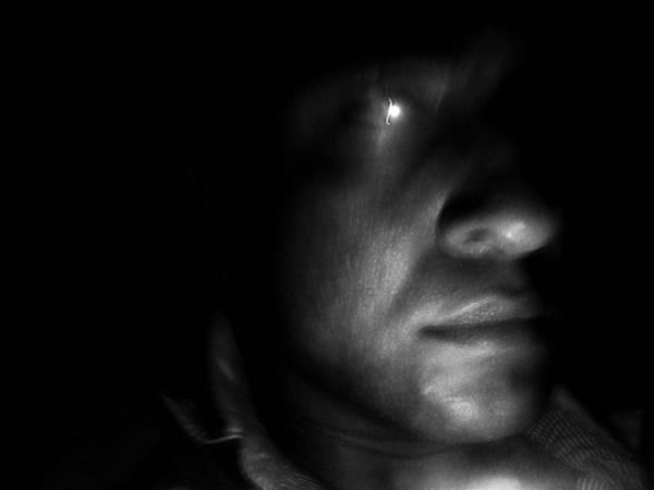 Face Art Print featuring the photograph Terminator by Beto Machado