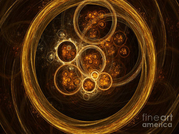 Science Art Print featuring the photograph Fractal Flames by Scott Camazine