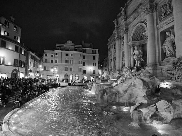 2013. Art Print featuring the photograph Fontana Di Trevi by Jouko Lehto