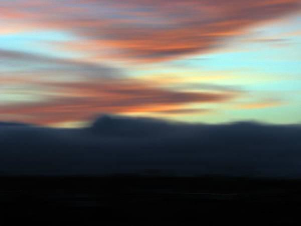 Sunset Art Print featuring the photograph Ablaze by Liz Hill