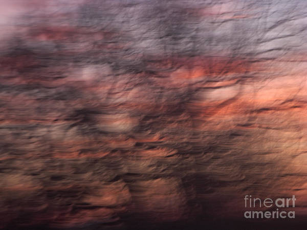 Abstract Art Print featuring the photograph Abstract 10 by Tony Cordoza