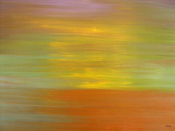 Abstract Art Print featuring the painting Abstract 418 by Patrick J Murphy