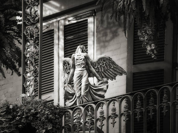 French Quarter Print featuring the photograph Angels by Brenda Bryant