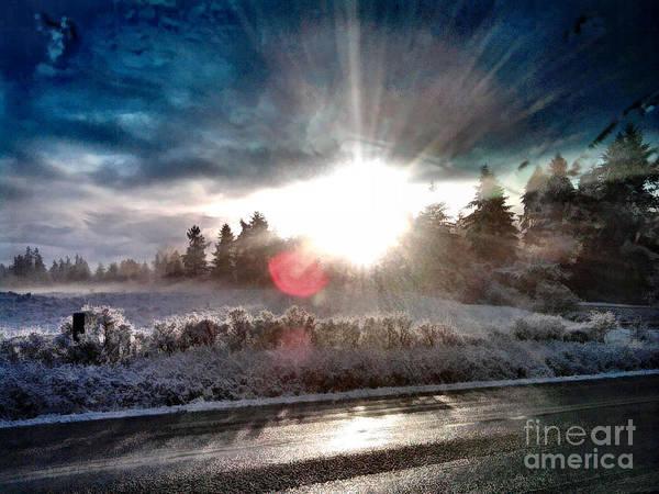 Sunrise Art Print featuring the photograph Awakening by Rory Sagner