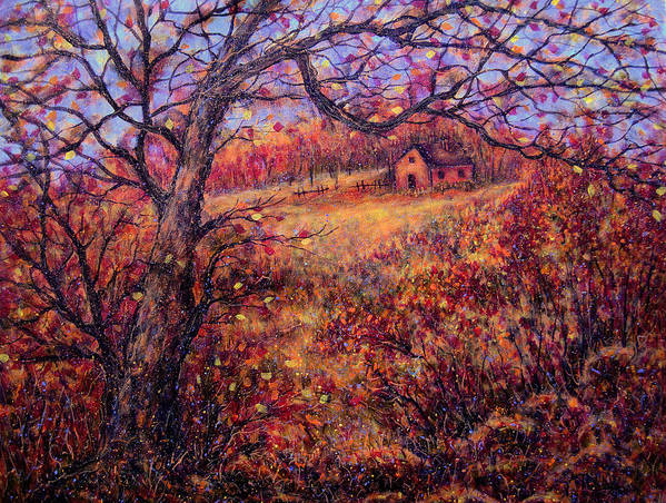 Autumn Art Print featuring the painting Beautiful Autumn by Natalie Holland
