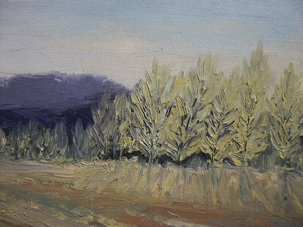Oil Art Print featuring the painting Cades Cove by Dwayne Gresham