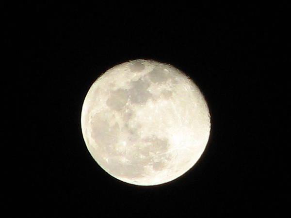 Moon Art Print featuring the photograph California Moon by Deshagen Photography