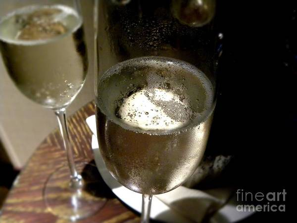 Champagne Art Print featuring the photograph Champagne by Tisha Clinkenbeard