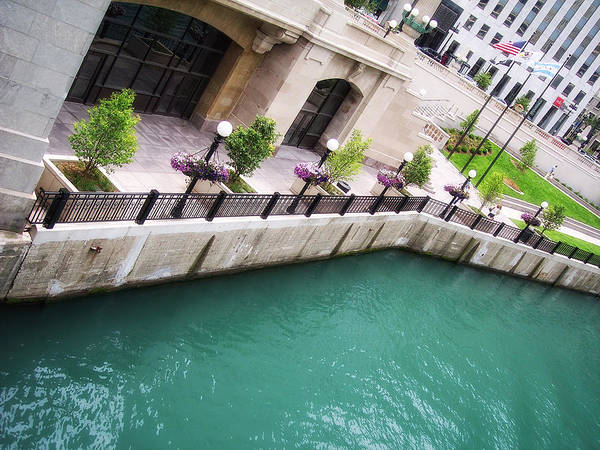 Chicago Art Print featuring the photograph Chicago River by Donna Blackhall