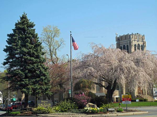 Saugus Art Print featuring the photograph Cliftondale Square by Barbara McDevitt