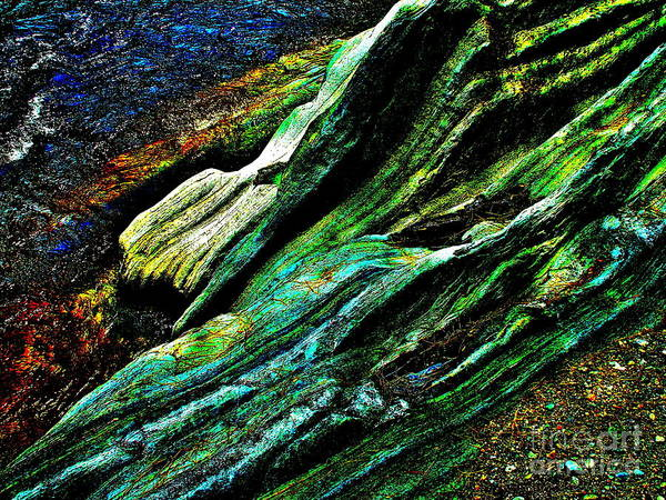 Landscape Art Print featuring the photograph Coos Canyon Y241 by George Ramos