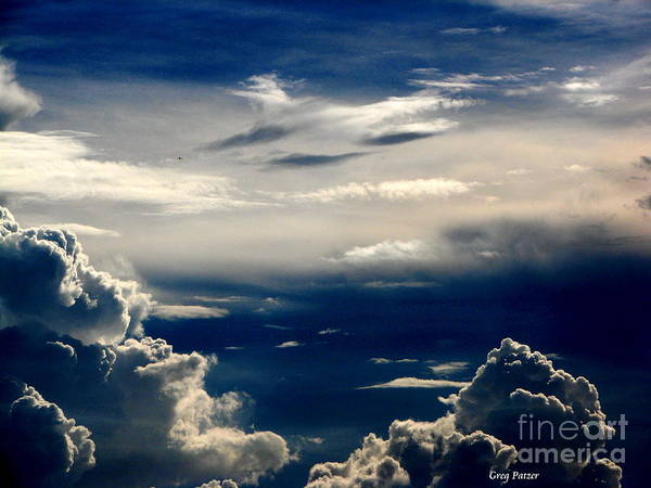 Art For The Wall...patzer Photography Art Print featuring the photograph Deep Blue by Greg Patzer