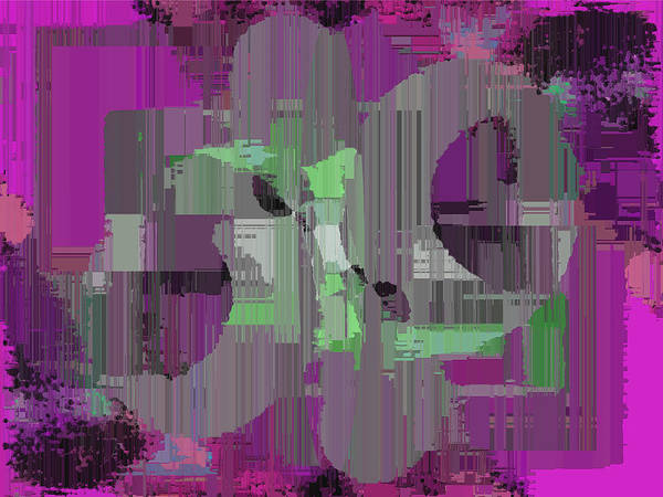 Abstract Art Print featuring the digital art Deliberations by Tim Allen