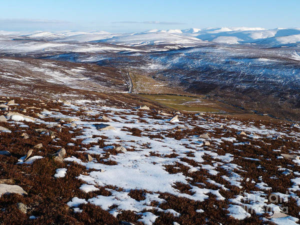 Cairngorm Mountains Art Print featuring the photograph Eastern Cairngorms by Phil Banks