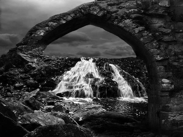 Waterfall Art Print featuring the photograph Falls by Jack Zulli