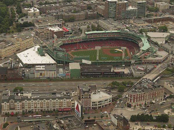 Fenway Park Art Print featuring the photograph Fenway by Joshua House