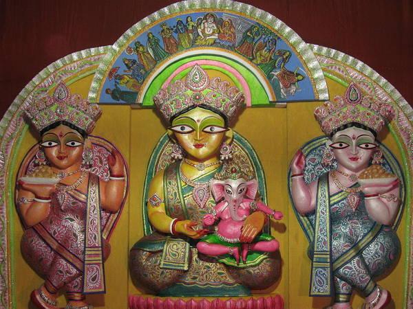 Religion Art Print featuring the photograph Goddess Durga by Pradip kumar Paswan