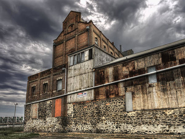 Abandonded Building Art Print featuring the photograph Hart's Mill by Wayne Sherriff