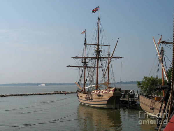Homesteaders Art Print featuring the photograph Homesteaders Sailing Ships by Christiane Schulze Art And Photography