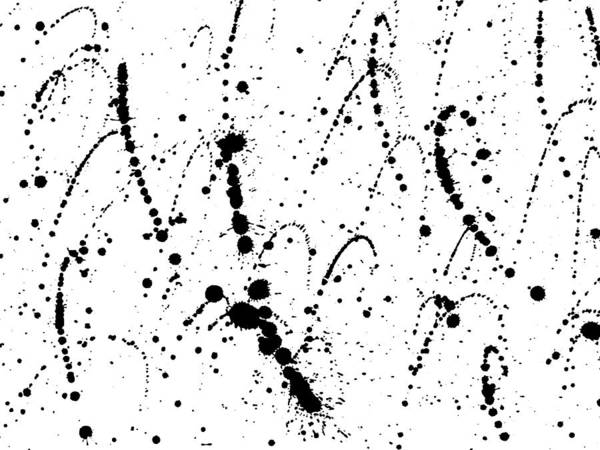 Ink Blots Grunge Urban Background  Texture Vector  Dust Overlay Distress  Grain   Black Paint Splatter , Dirty,poster For Your Design  Hand Drawing