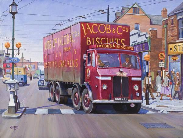 Painting For Sale Art Print featuring the painting Jacobs Leyland Octopus by Mike Jeffries