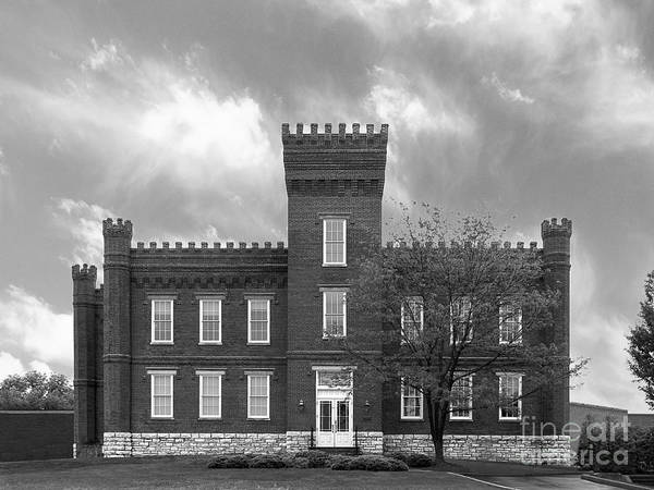 African-american Art Print featuring the photograph Kentucky State University Jackson Hall by University Icons